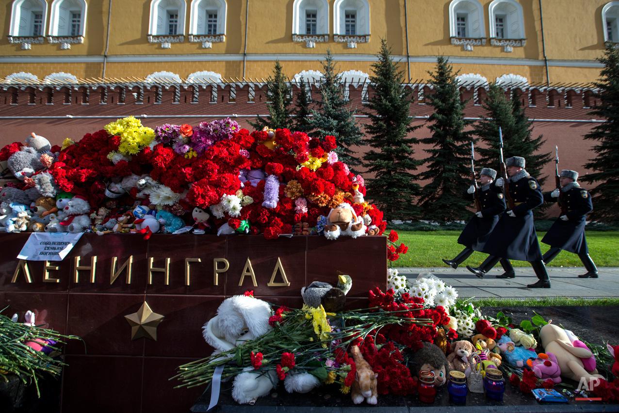 APTOPIX Russia Egypt Russian Plane Crash