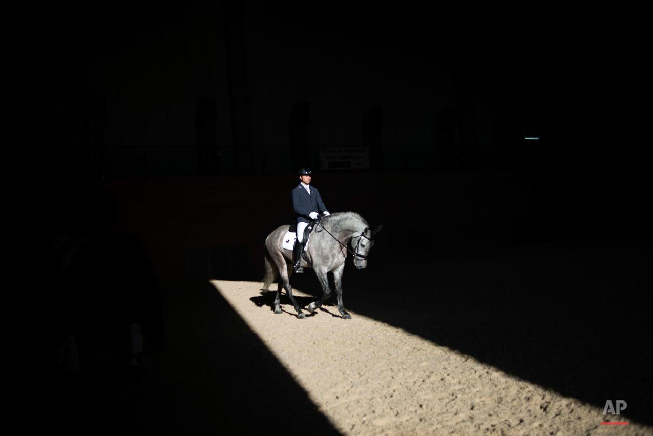 APTOPIX Spain Horse Show