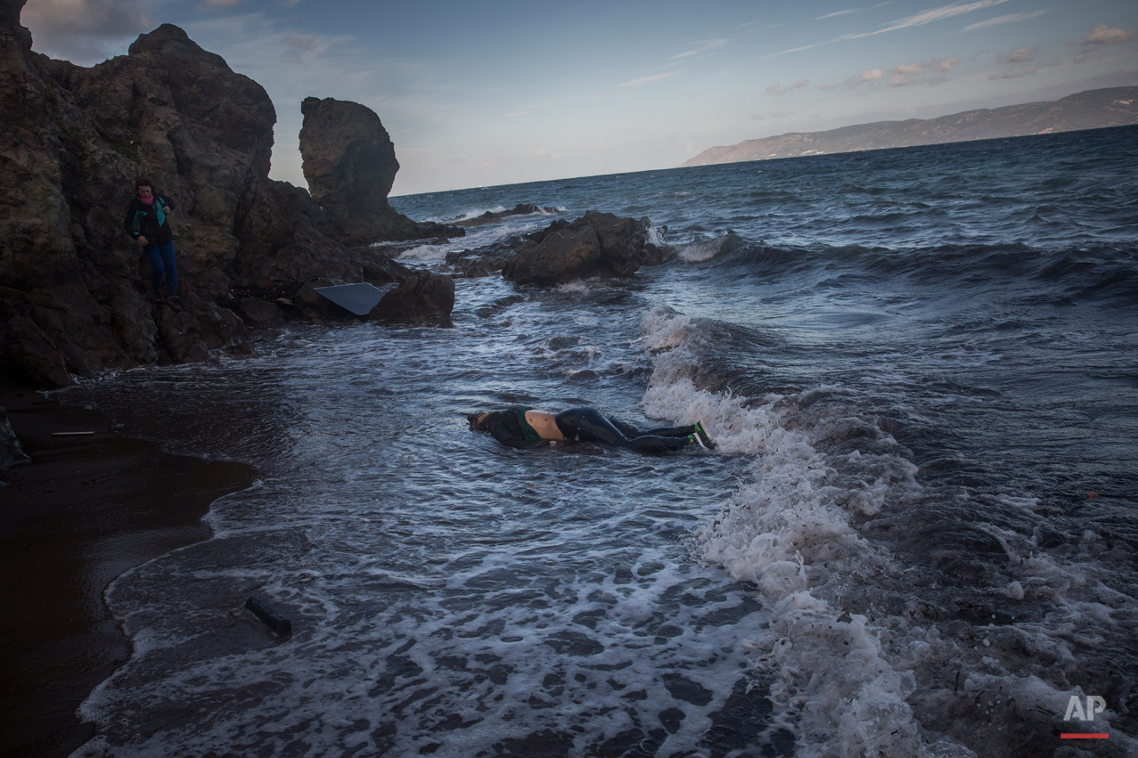 APTOPIX Greece Migrants