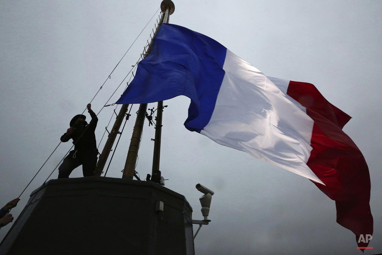 APTOPIX France Paris Attacks Seattle