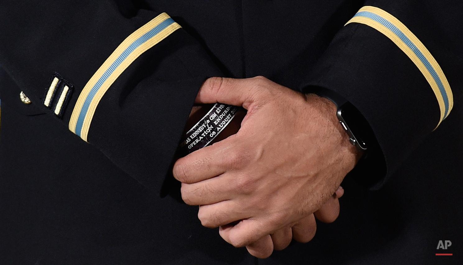 APTOPIX Obama Medal of Honor