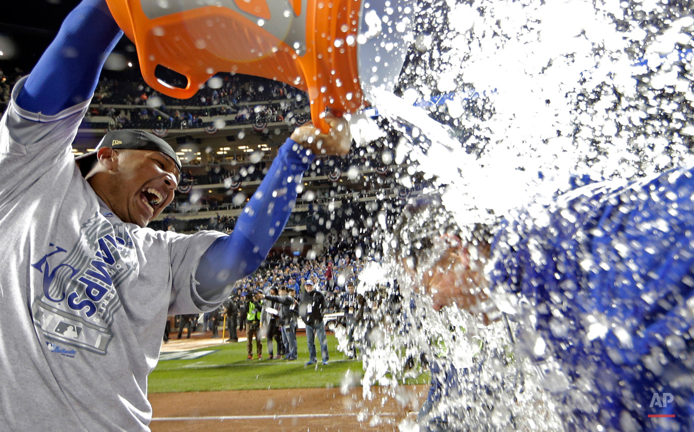 APTOPIX World Series Royals Mets Baseball