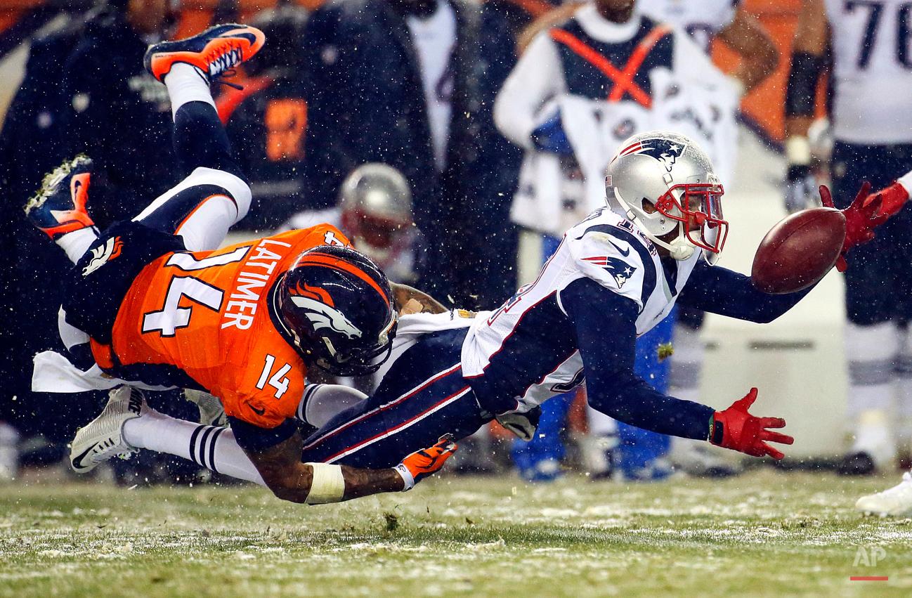 APTOPIX Patriots Broncos Football