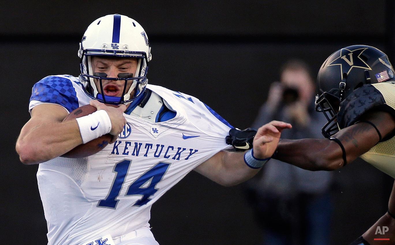 APTOPIX Kentucky Vanderbilt Football