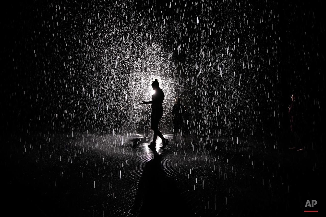 APTOPIX Rain Room