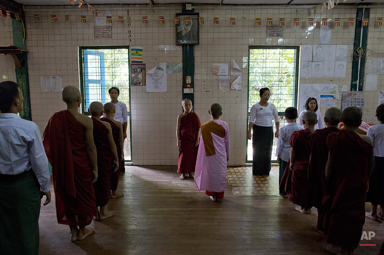 Myanmar Monastery Schools Photo Gallery