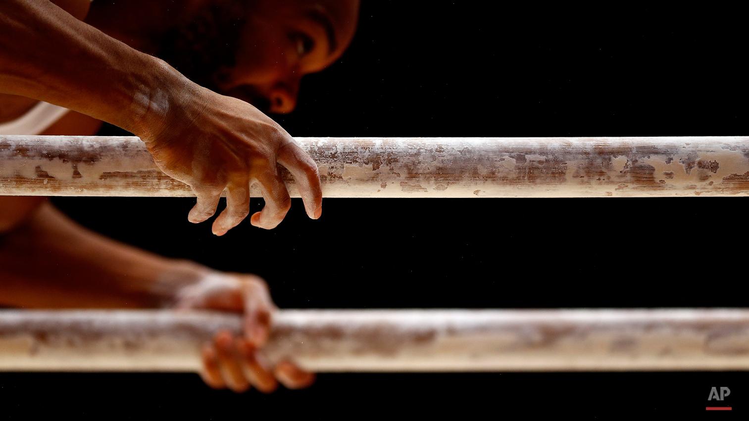 APTOPIX Britain Gymnastics Worlds