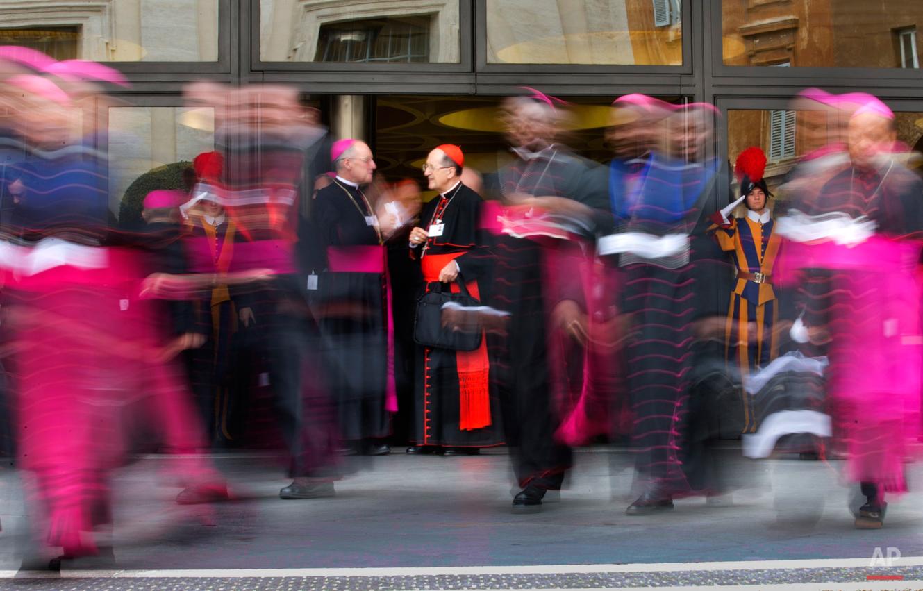 APTOPIX Vatican Family