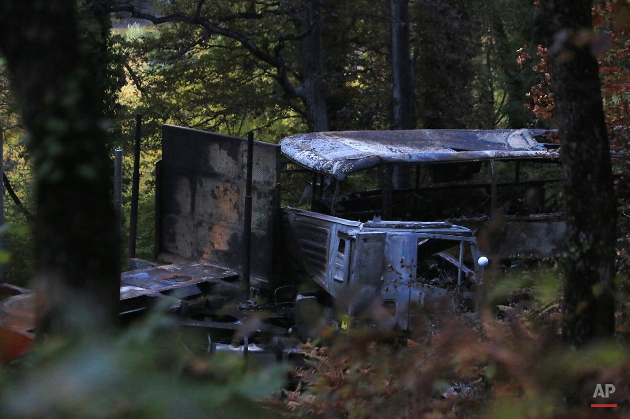 APTOPIX France Road Crash