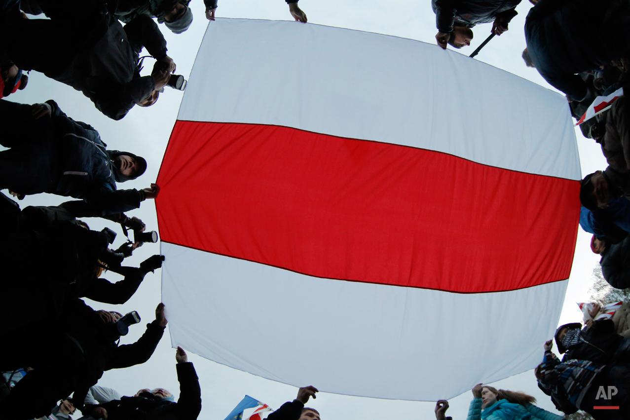 APTOPIX Belarus Presidential Elections