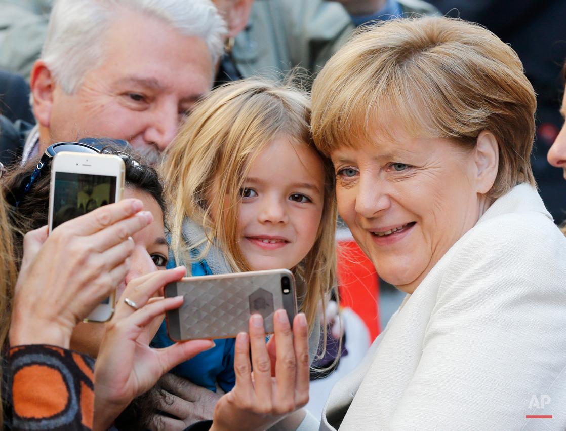 APTOPIX Germany Unification Anniversary