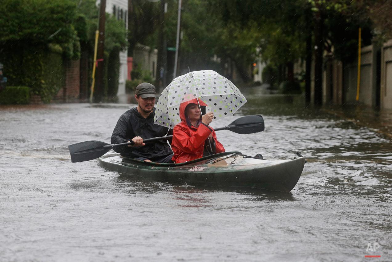APTOPIX East Coast Rainstorm South Carolina