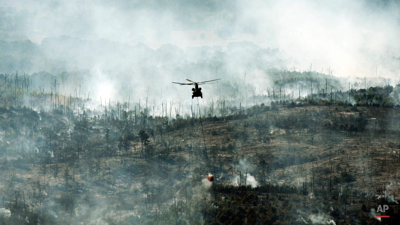 APTOPIX Central Texas Wildfire