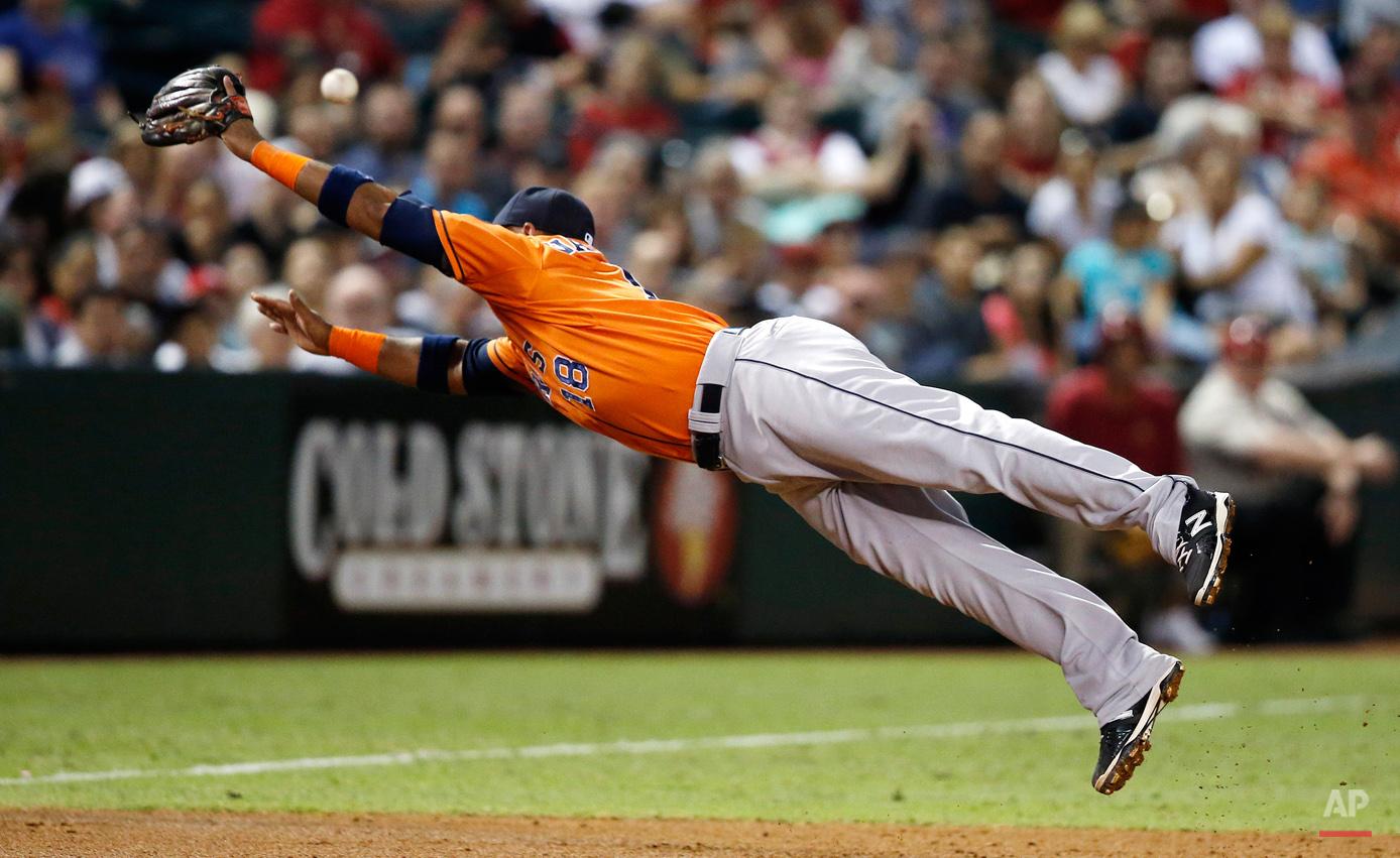 APTOPIX Astros Diamondbacks Baseball