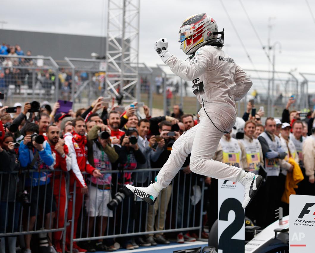 APTOPIX F1 US Grand Prix Auto Racing