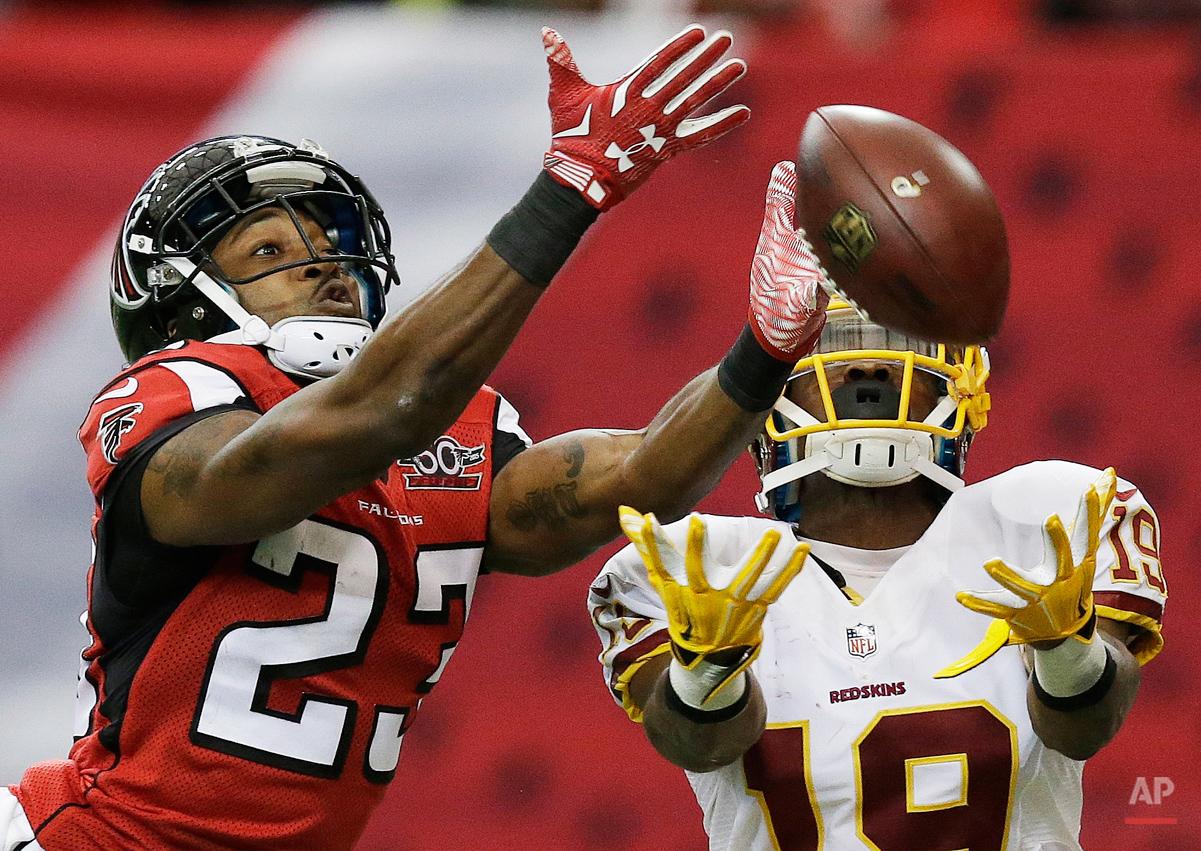 APTOPIX Redskins Falcons Football