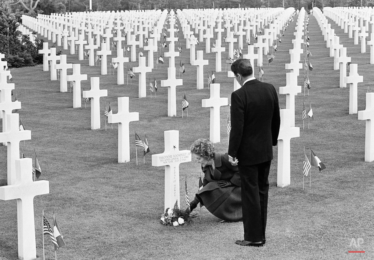 Reagan Omaha Beach 1984