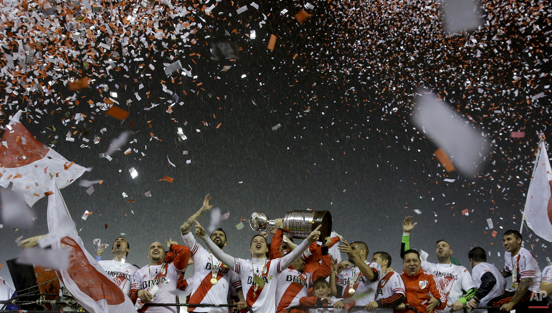 APTOPIX Argentina Mexico Soccer Copa Libertadores