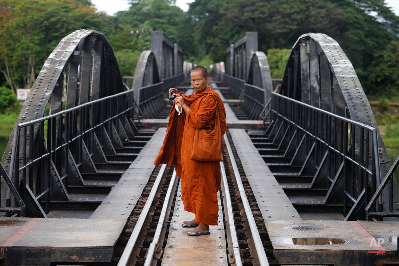 APTOPIX Thailand Railway Man