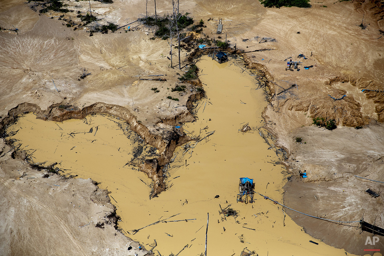Peru Illegal Mining Raid Photo Gallery