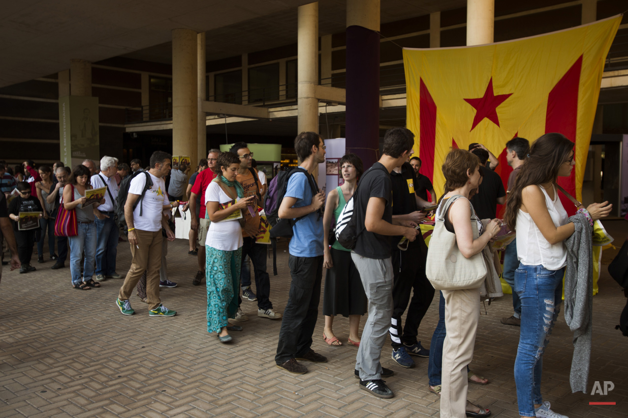 Spain Catalonia Independence Photo Gallery