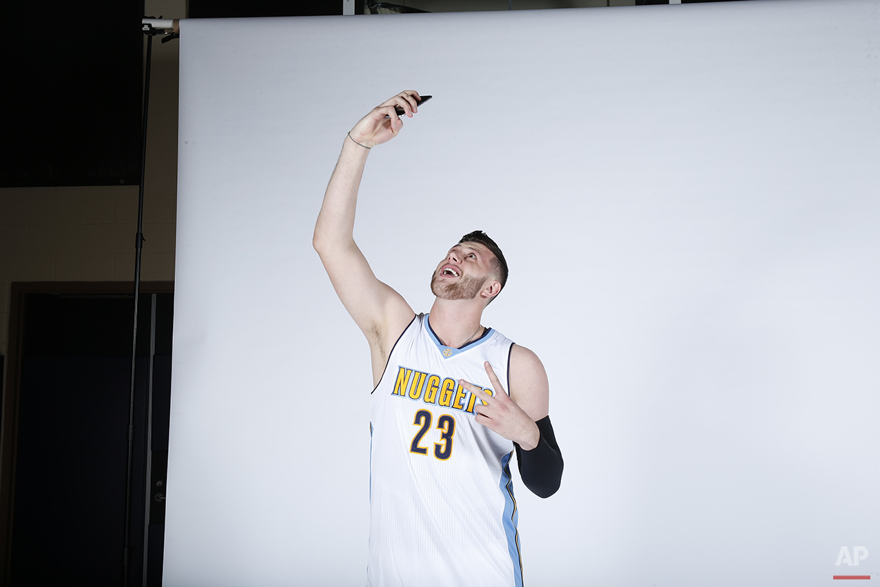 Nuggets Media Day Basketball