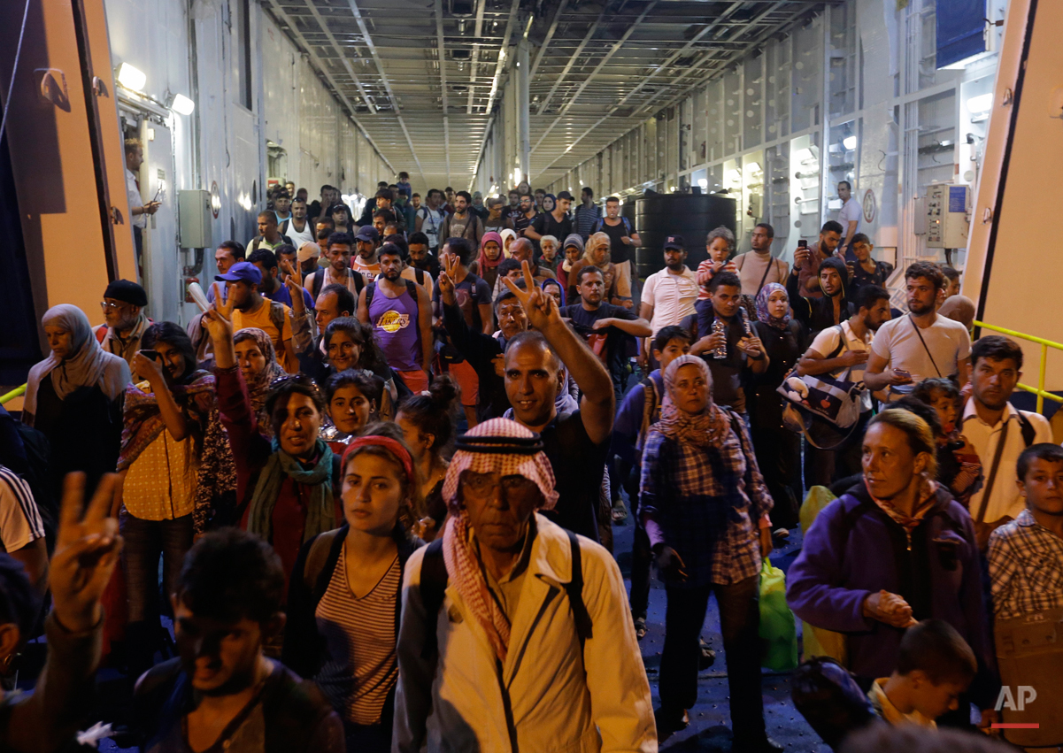 Europe 24 Hours of Migration Photo Gallery