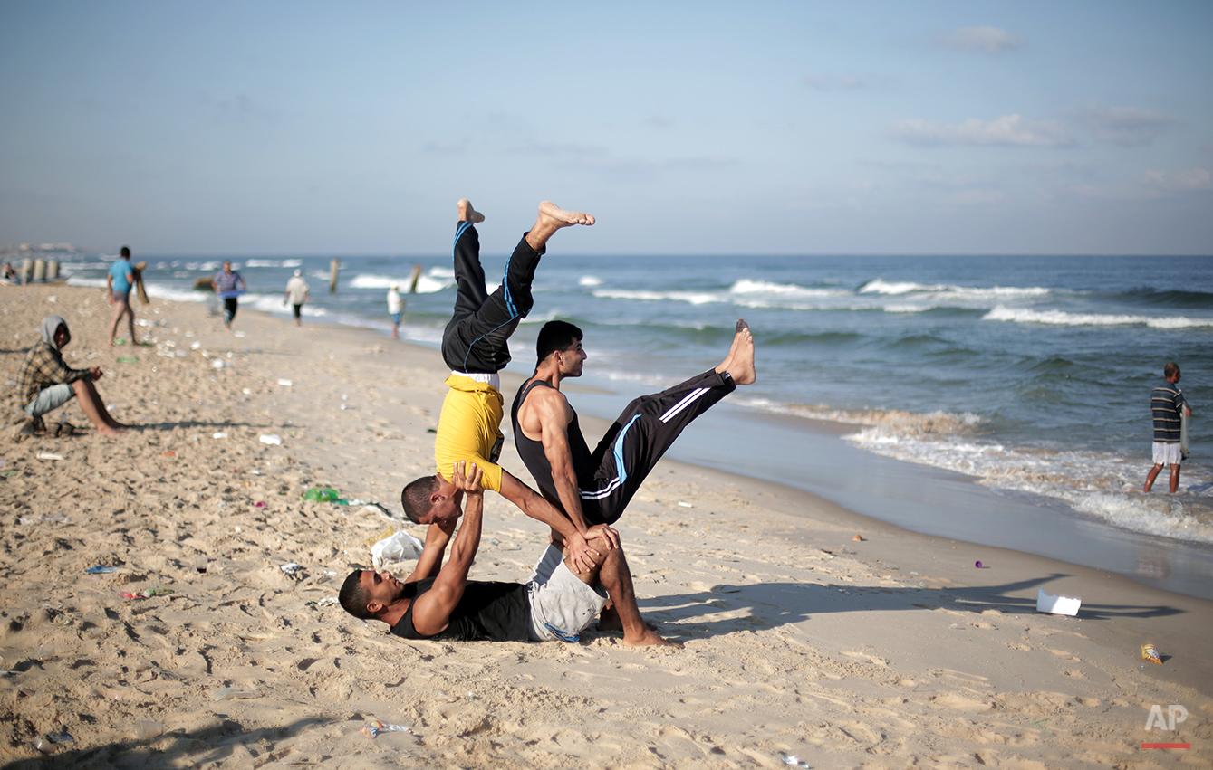 Mideast Palestinian Gaza Extreme Sports Photo Gallery
