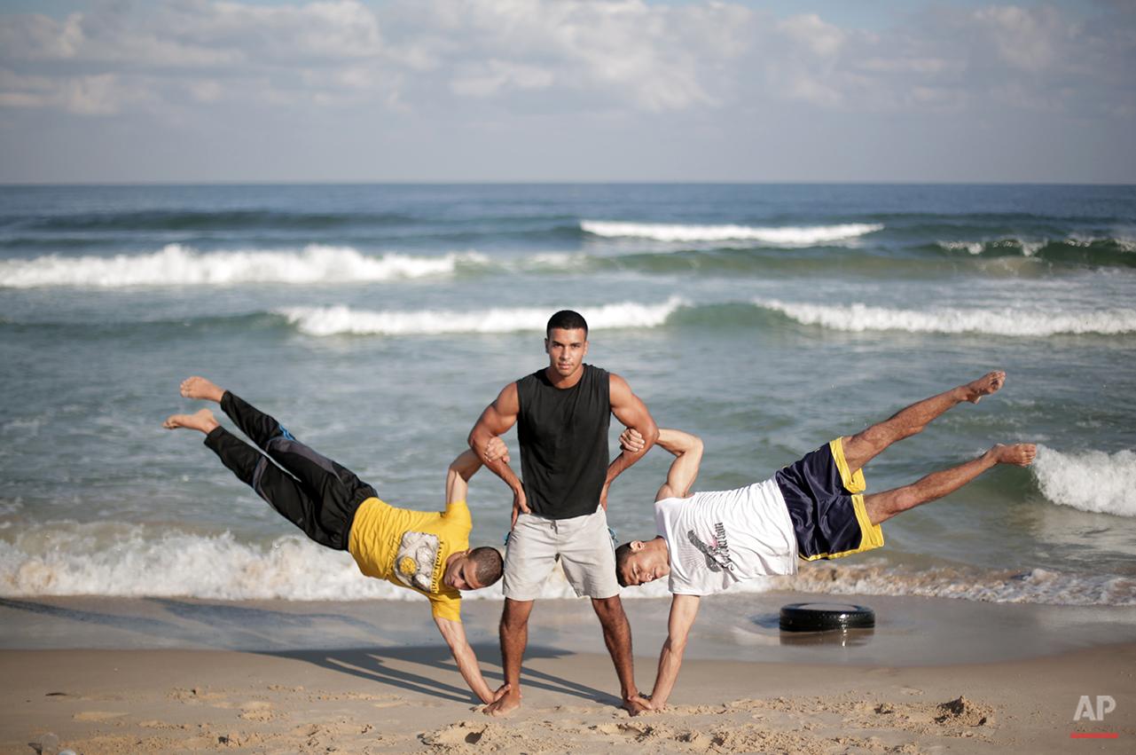 APTOPIX Mideast Palestinian Gaza Extreme Sports Photo Gallery