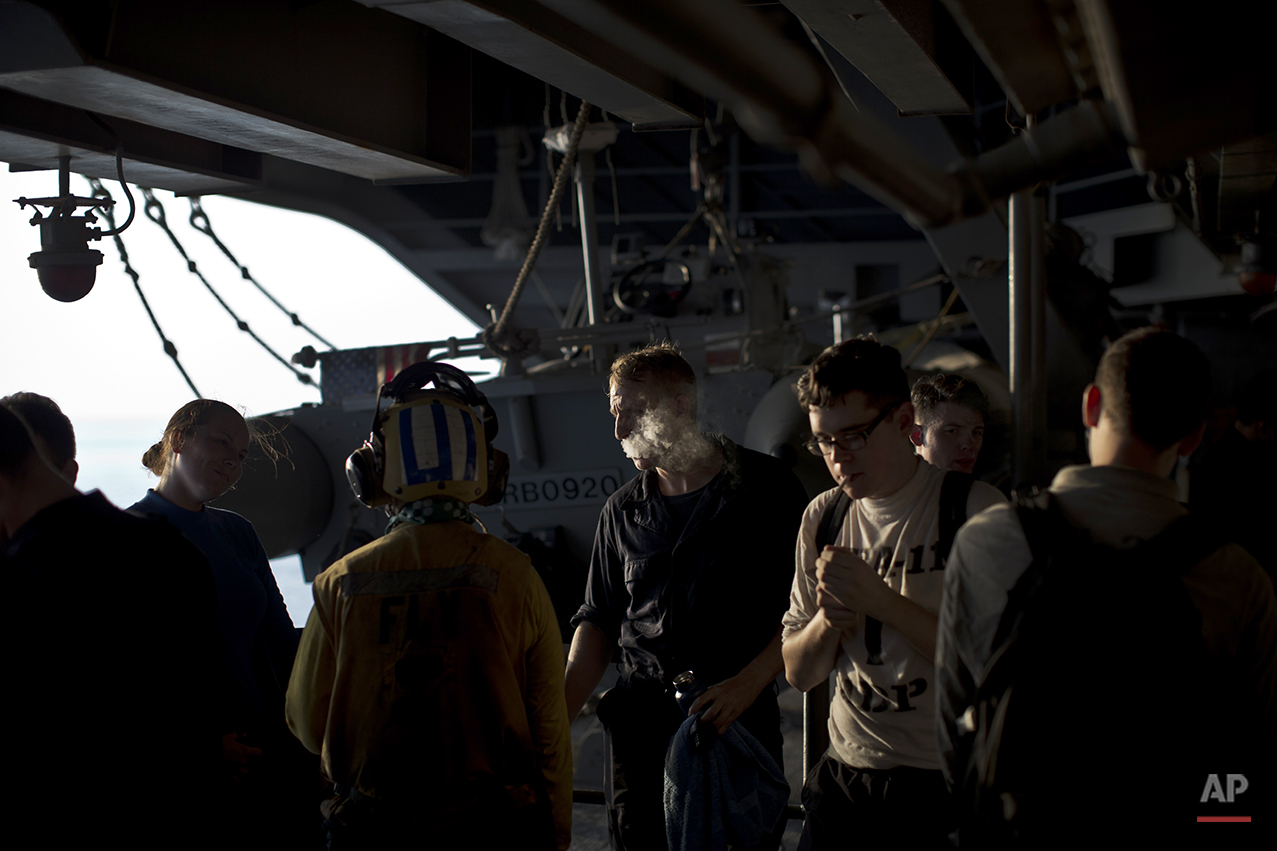 Islamic State US Carrier Photo Essay