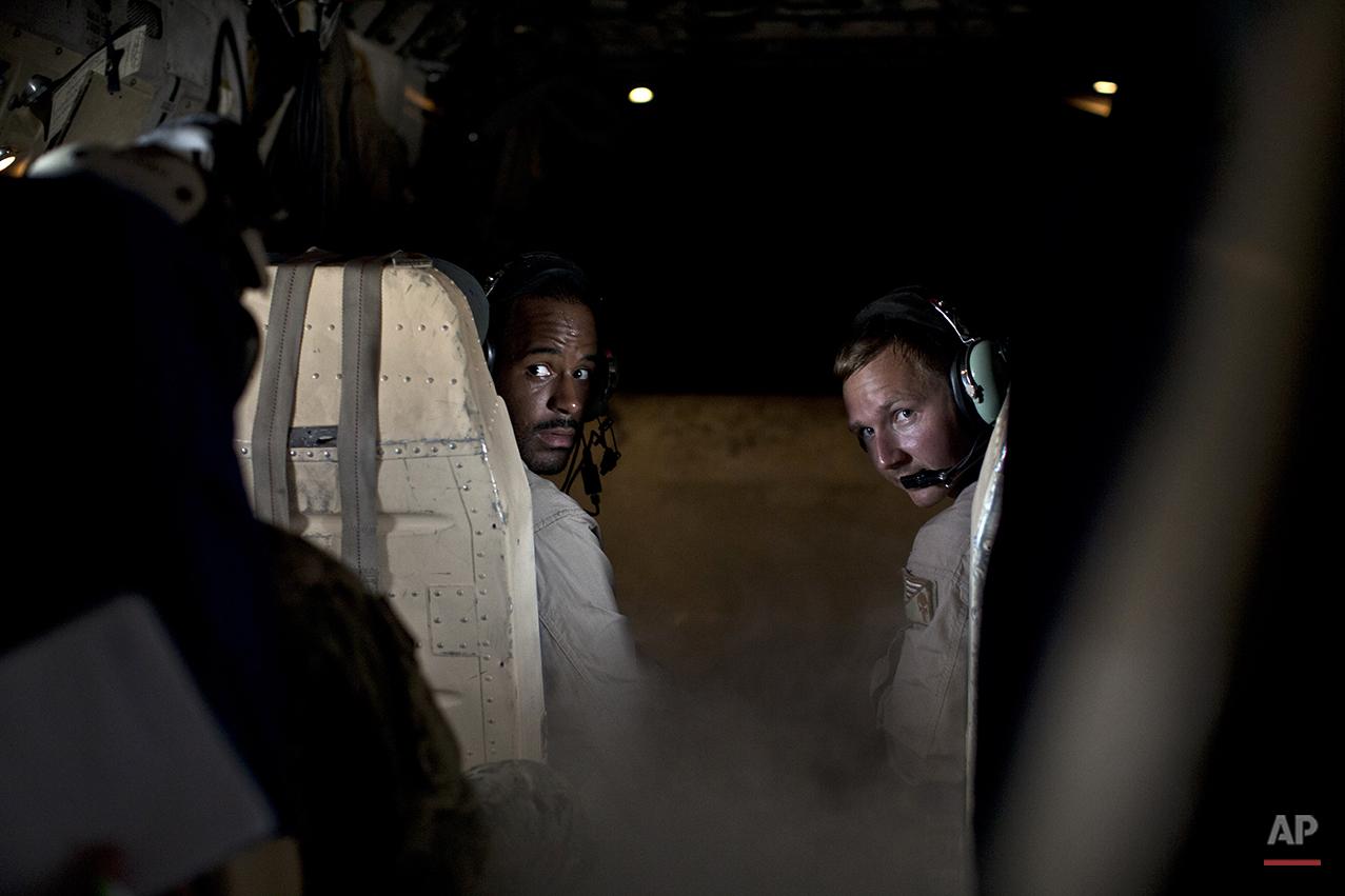 APTOPIX Islamic State US Carrier Photo Essay