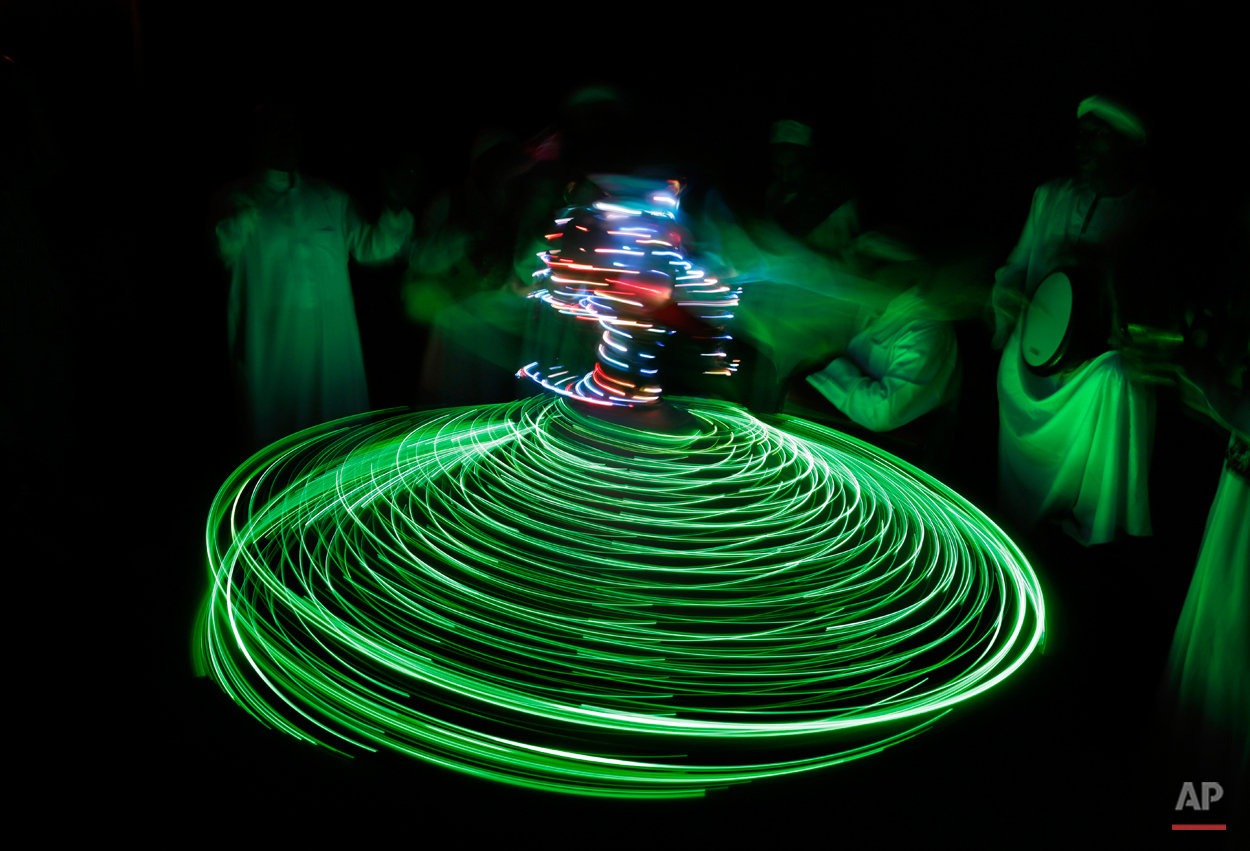 Mideast Egypt Whirling Dervishes Photo Essay