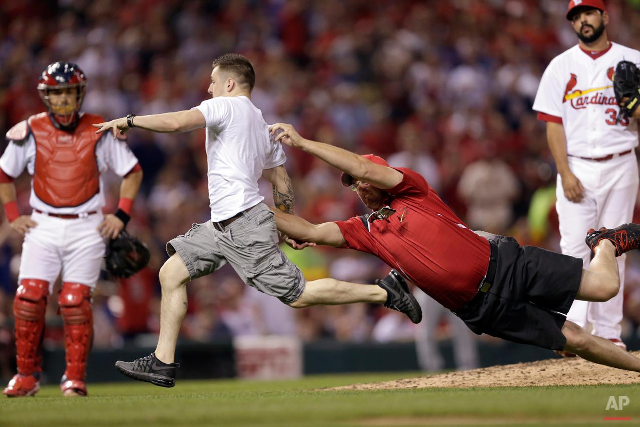 APTOPIX Cubs Cardinals Baseball
