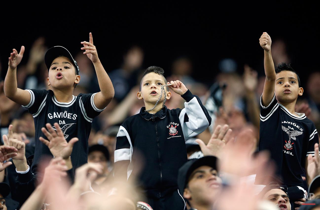 APTOPIX Brazil Paraguay Soccer Copa Libertadores