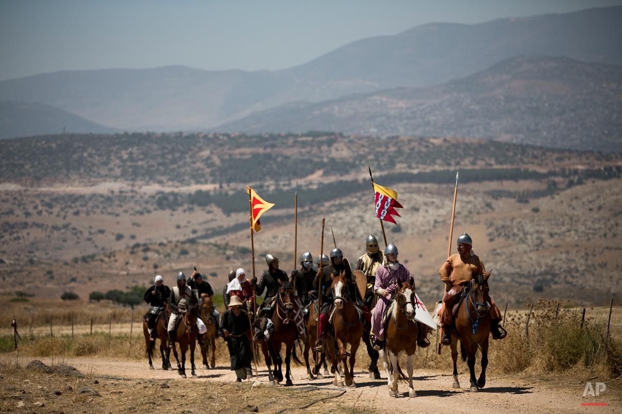 APTOPIX Mideast Israel Horns of Hattin Photo Essay