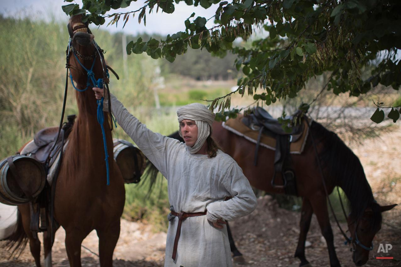 Mideast Israel Horns of Hattin Photo Essay