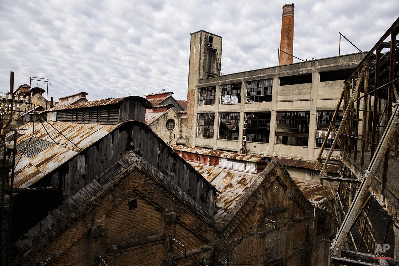 APTOPIX Uruguay Historic Meat Plant Photo Gallery