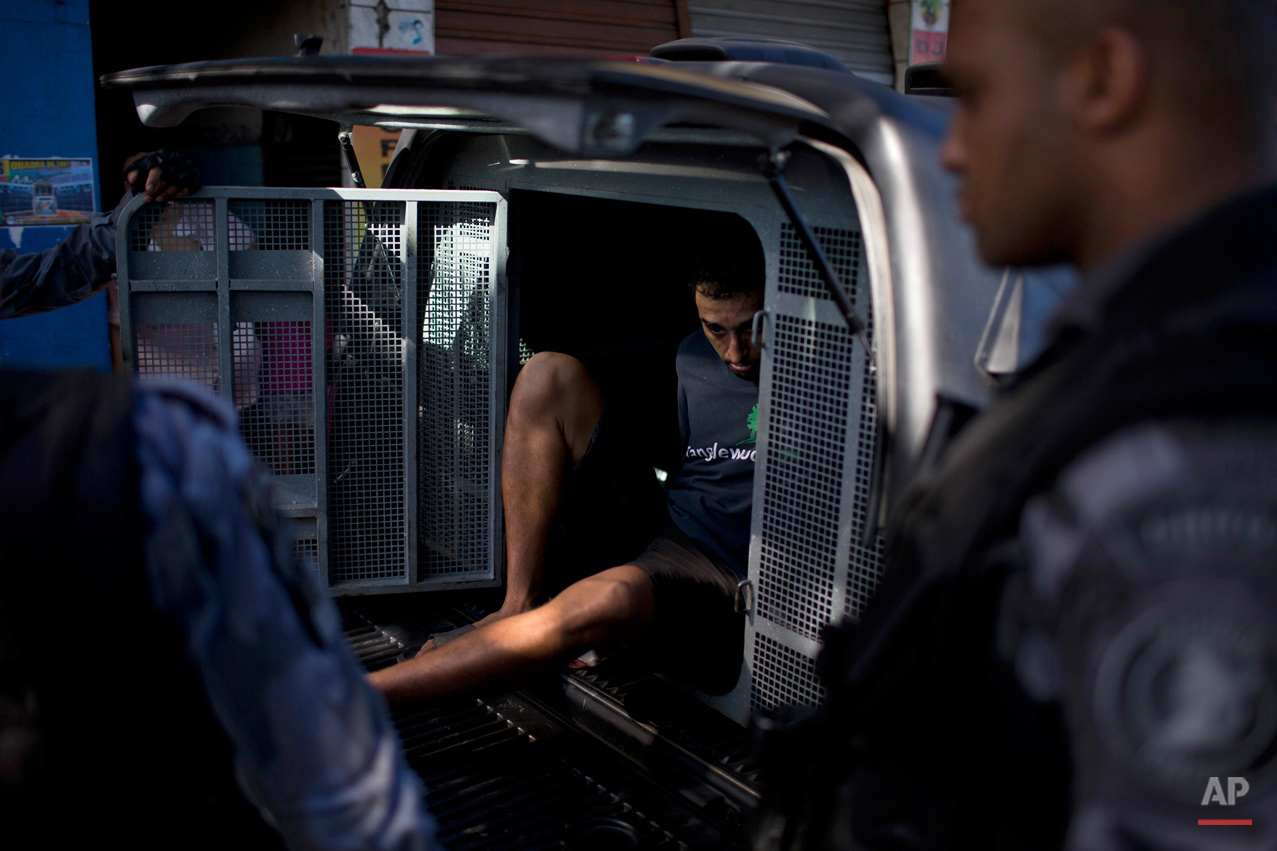 APTOPIX Brazil Rio Security