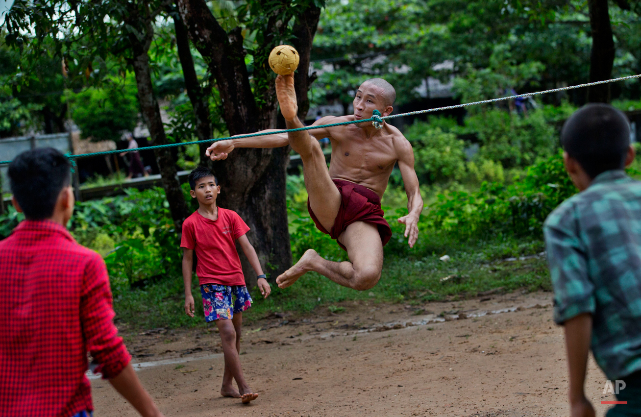 Myanmar Games People Play Photo Gallery