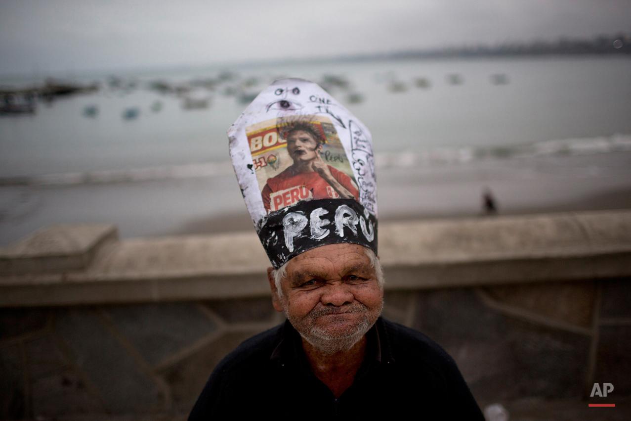 APTOPIX Peru Saint Peter's Day