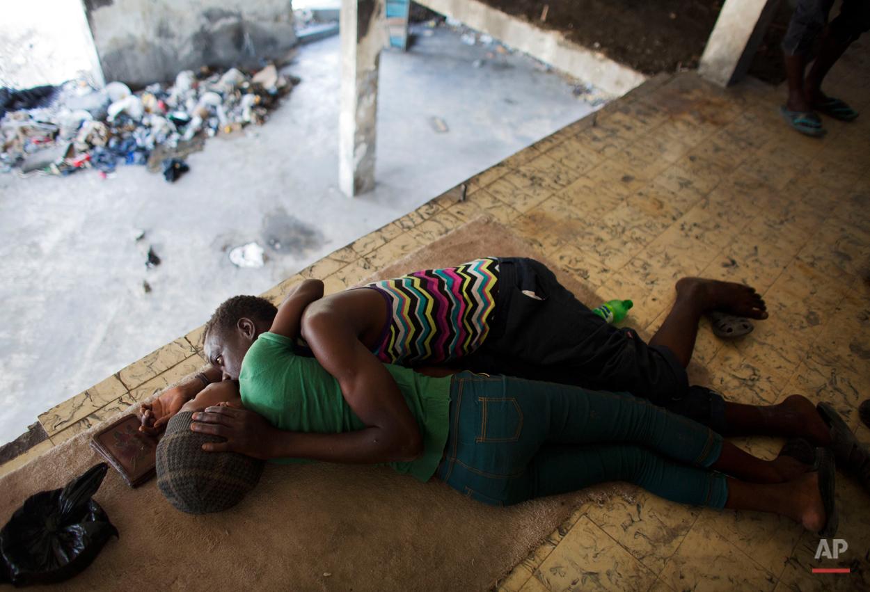 APTOPIX Haiti Daily Life