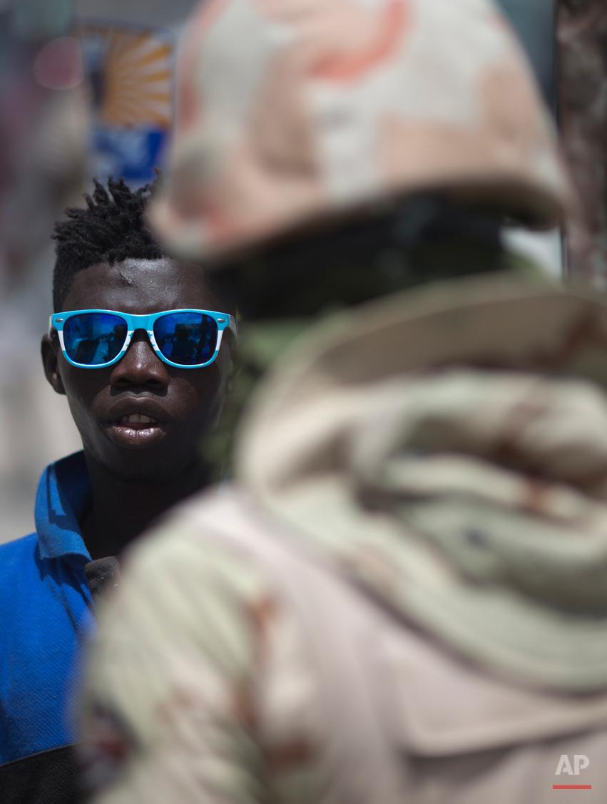 APTOPIX Haiti Migrants