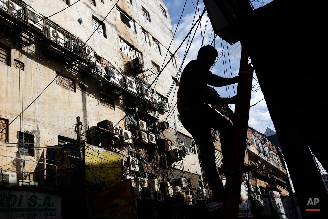 APTOPIX Paraguay Contraband Crackdown