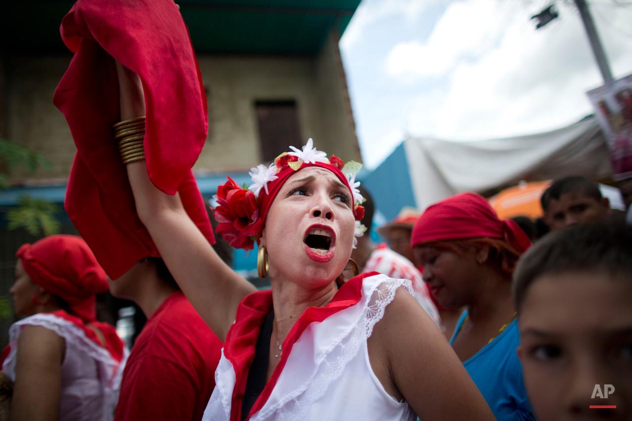 APTOPIX Venezuela Feast of San Juan