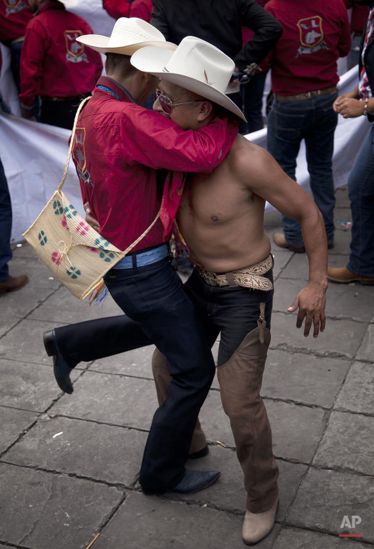 APTOPIX Mexico Gay Pride Parade