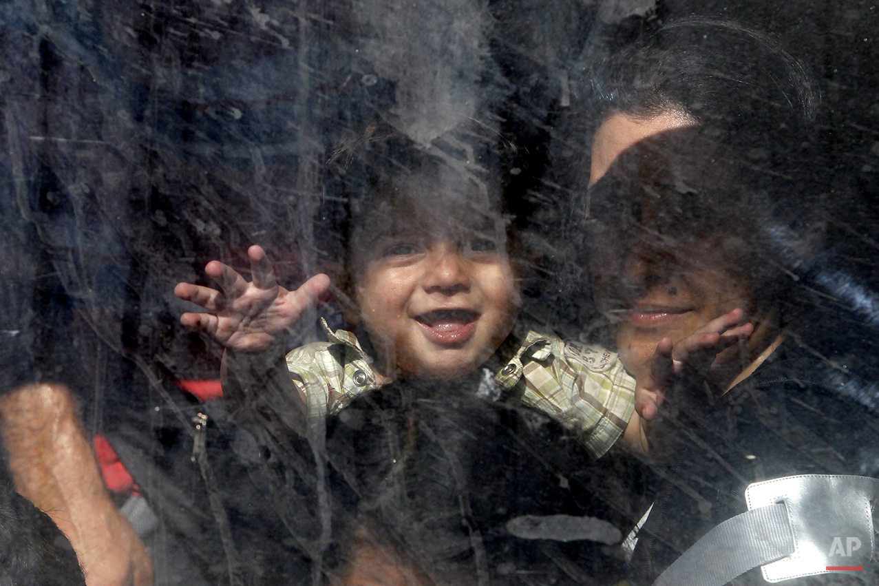 Macedonia Migrants Photo Gallery