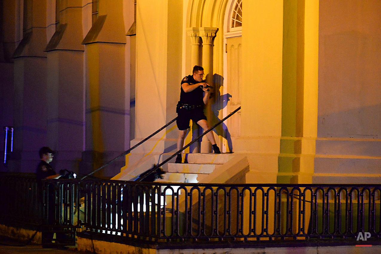 APTOPIX Charleston Shooting