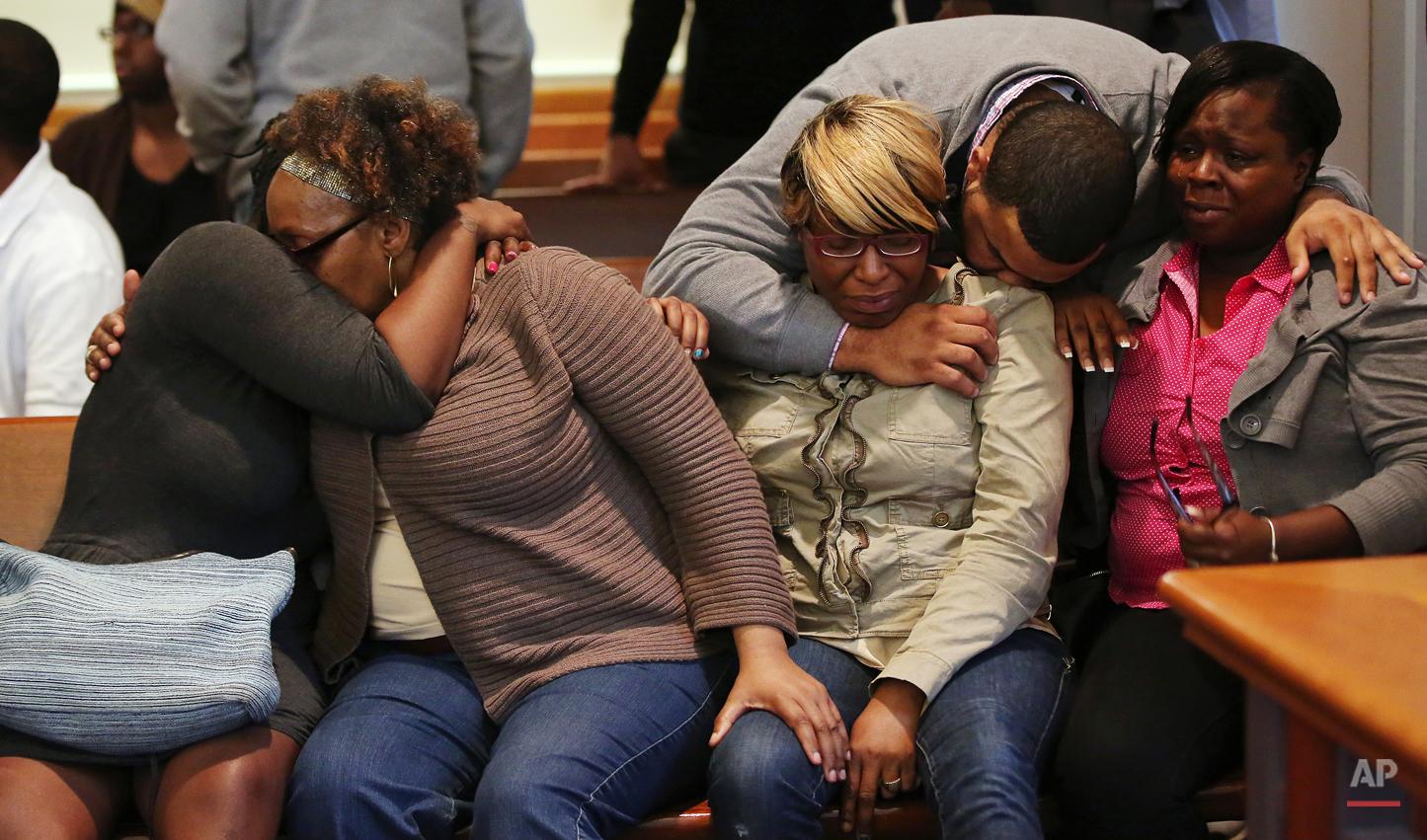 APTOPIX Teen Killed Arrests