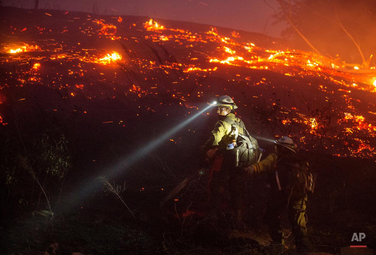 APTOPIX Washington Wildfire
