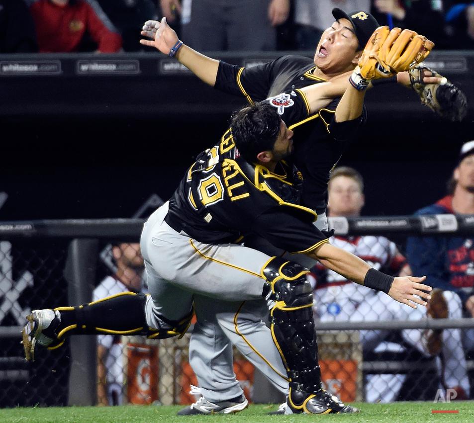 APTOPIX Pirates White Sox Baseball